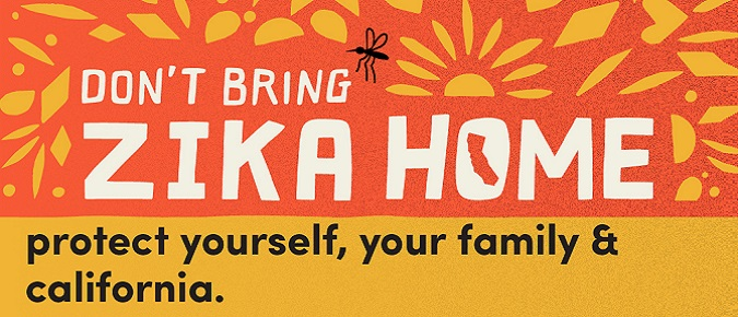 Don't bring Zika Home. Learn How