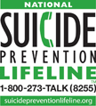 National Suicide Prevention Lifeline logo: suicidepreventionlifeline.org